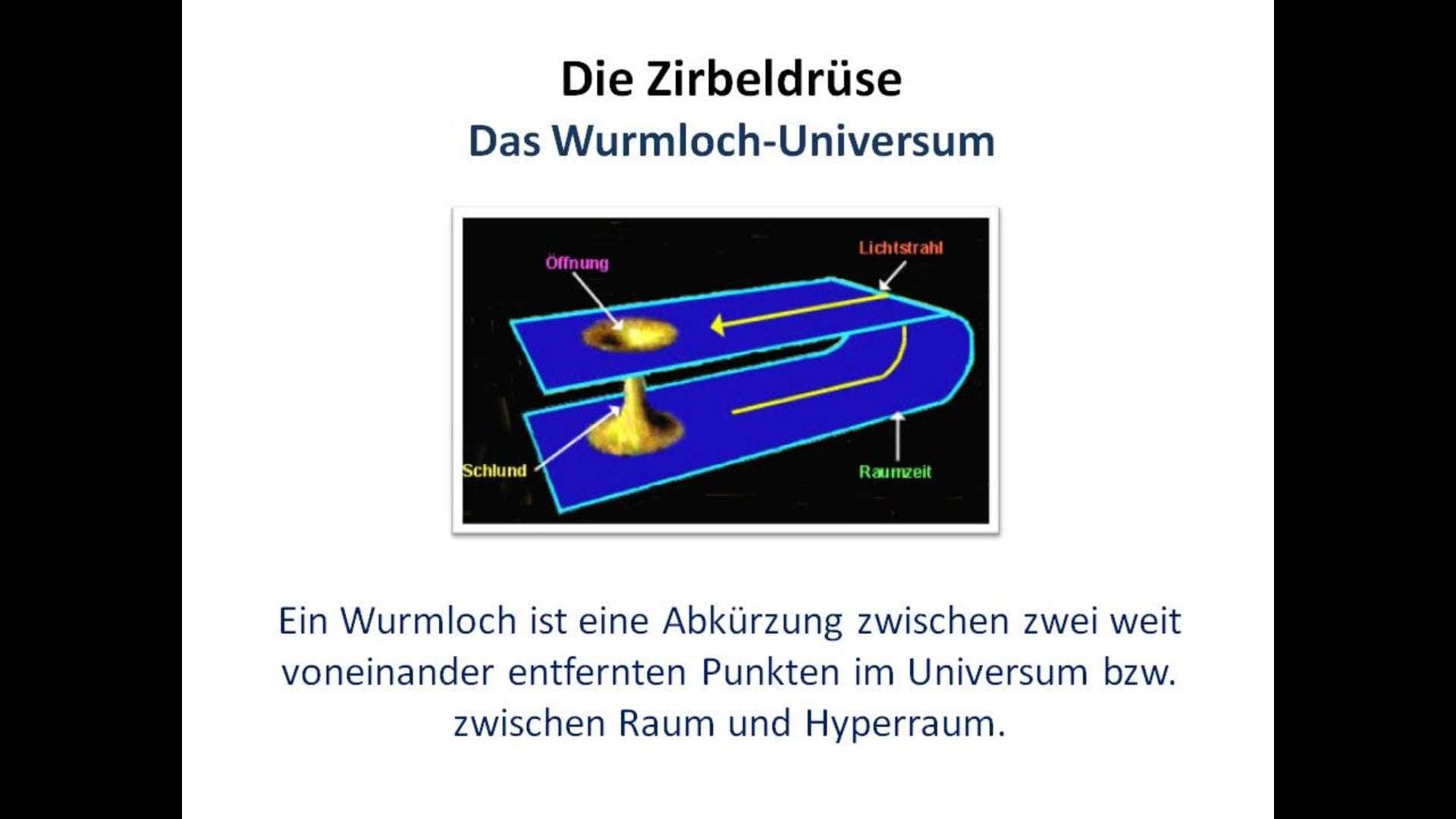 Wurmloch Universum